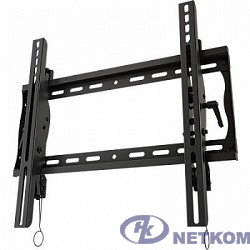 """Wize Pro T46A Универсальное наклонное настенное крепление Wize T46A для 26""""-46""""+ LCD телевизоров и плазменных панелей, Max VESA 452х401 мм, наклон +15/-5°, расстояние от стены 6 см, до 68 кг, черн."""