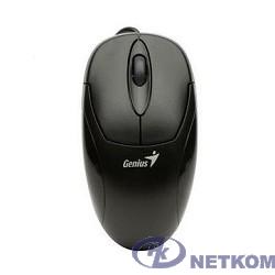 Genius Мышь XScroll V3 black { USB, G5 optical 1000dpi, подходит под обе руки } [31010233100/31010021400]
