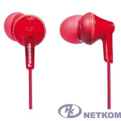 Panasonic RP-HJE125E-R вкладыши канальные, красные