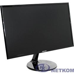 "LCD Samsung 23.5"" S24F350FHI черный {PLS LED 1920x1080 4ms 16:9 250cd 178/178 D-Sub HDMI}"