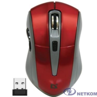 Defender Accura MM-965 Red USB [52966] {Беспроводная оптическая мышь, 6кнопок,800-1600dpi}