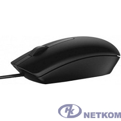 DELL MS116 [570-AAIR] Mouse,  Black, USB
