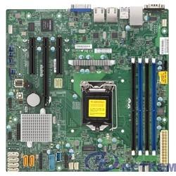 Supermicro MBD-X11SSL-F-O, Single SKT, Intel C232 PCH chipset, 6 x SATA3, 2 x GbE LAN, 2 x SATA-DOM, dedicated IPMI, mATX - Retail