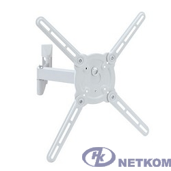 "Кронштейн Kromax ATLANTIS-15 white (Наклонно-поворотный для LED TV 22""-65"", 4 ст. свободы, VESA 75/1"