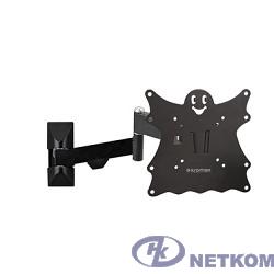 "Кронштейн Kromax Casper-204 черный 20""-43"" макс.30кг настенный поворот и наклон"