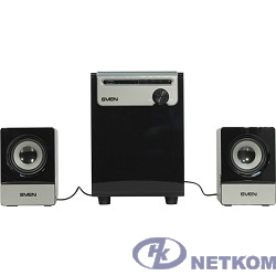 SVEN MS-110 черный {Воспроизведение музыки с USB flash и SD card памяти}