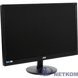 """LCD AOC 21.5"""" E2270SWHN(00/01) черный {TN 1920x1080 5ms 90/65 200cd 20M:1 D-Sub HDMI}"""