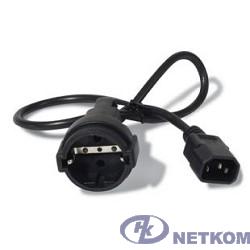 APC AP9880 Кабель Power Cord [IEC 320 C14 to CEE 7/7(Schuko) Receptacle] - 10 AMP/230V 0.61 Meters