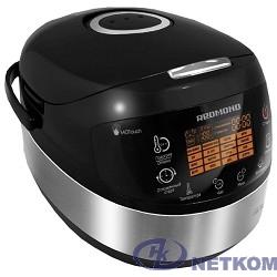 REDMOND RMC-M90 Мультиварка, 860 Вт, 5 л, 17 программ, чёрный/ металлик