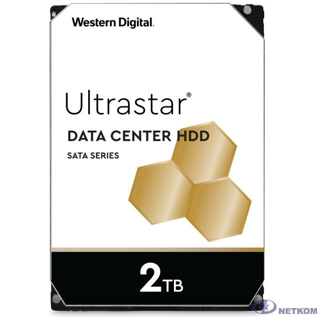 """2Tb WD Ultrastar DC HA210 {SATA 6Gb/s, 7200 rpm, 128mb buffer, 3.5""""} [1W10002/HUS722T2TALA604]"""