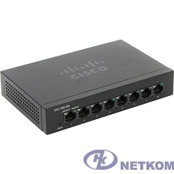 Cisco SB SG110D-08-EU Коммутатор 8-портоый SG110D-08 8-Port Gigabit Desktop Switch