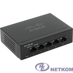 Cisco SB SG110D-05-EU Коммутатор 5-портовый SG110D-05 5-Port Gigabit Desktop Switch