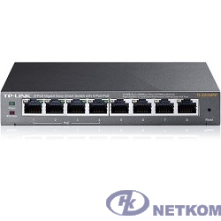 TP-Link TL-SG108PE Easy Smart гигабитный 8-портовый коммутатор с 4 портами PoE