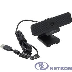 960-001076 Logitech WebCam C925e { USB 2.0, 1920*1080, 2Mpix foto, Mic, Black}