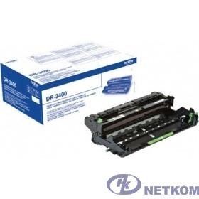 Brother DR-3400 Фотобарабан, Black {HL-L5000/L5100/L6250/L6300/L6400, DCP-L5500/L6600, MFC-L5700/L5750/L6800/L6900 (DR3400)