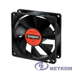 Exegate EX253948RUS Вентилятор ExeGate Mirage-H 80x80x25 гидродинамический подшипник, 2000 RPM, 22dB, 3pin