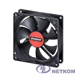 Exegate EX166175RUS Вентилятор ExeGate Mirage-S 92x92x25 подшипник скольжения, 1800 RPM, 23dB, 3pin