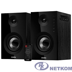 SVEN SPS-721 чёрный {акустическая система 2.0, мощность 2x25 Вт (RMS), USD/SD, пульт ДУ, Bluetooth}