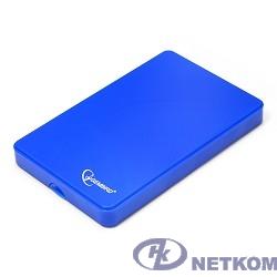 """Gembird EE2-U2S-40P-B Внешний корпус 2.5"""" Gembird EE2-U2S-40P-B, синий, USB 2.0, SATA, пластик"""