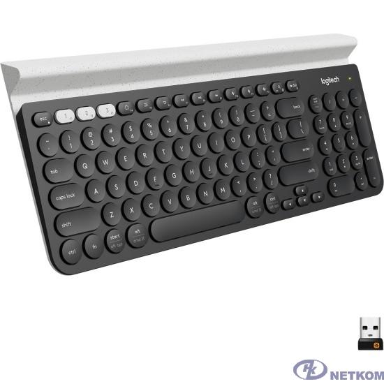 920-008043 Logitech Клавиатура Multi-Device Wireless K780