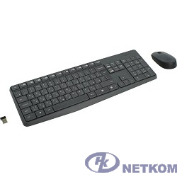 920-007948 Logitech Клавиатура + мышь MK235 GREY USB