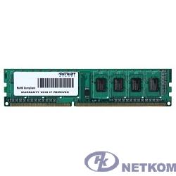 Patriot DDR3 DIMM 4GB (PC3-12800) 1600MHz PSD34G16002