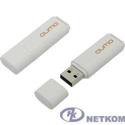 USB 2.0 QUMO 8GB Optiva 01 White [QM8GUD-OP1-white]