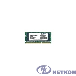 Patriot DDR3 SODIMM 4GB PSD34G16002S (PC3-12800, 1600MHz, 1.5V)
