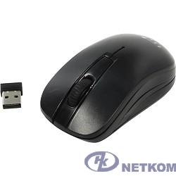 Oklick 445MW черный оптическая (1200dpi) беспроводная USB (3but) [945817]