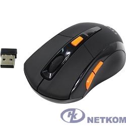 Oklick 585MW black optical (1600dpi) cordless USB (6but) [351687]