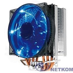 CROWN Кулер для процессора CM-4 (Для Intel и AMD,TDP до 160 Ватт,4шт. теплопроводных трубок, Гидродинамическиий подшипник,Размер: 154*124*84 мм)