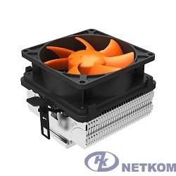 CROWN Кулер для процессора CM-82 (Для Intel и AMD,TDP до 80 Ватт ,Гидродинамический подшипник, Размер: 120*84*72 мм)
