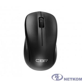 CBR CM 410 Black, Мышь беспроводная, оптическая, 2,4 ГГц, 1000 dpi, 3 кнопки и колесо прокрутки, выключатель питания, цвет чёрный