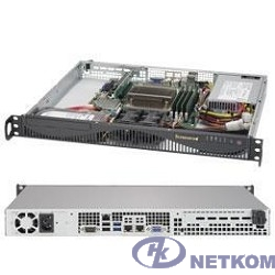 Supermicro SYS-5019S-ML, 1U no CPU(1) E3-1200v5/6thGenCorei3/ no memory(4)/ on board RAID 0/1/5/10/ no FixedHDD(2)LFF/ 2xGE/ 1xPCIEx8, 1xM.2 connector/ 1noRx350W (SYS-5019S-ML, X11SSH-F, 512F-350B1)
