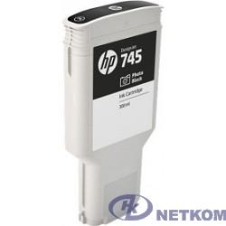 HP F9K04A Картридж №745, Photo Black {Designjet (300ml)}