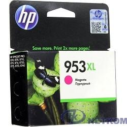 HP F6U17AE Картридж струйный №953XL пурпурный {OJP 8710/8720/8730/8210 (1600стр.)}