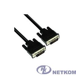 TV-COM Кабель DVI-D Dual link 25M/25M, экран, феррит.кольца, 1.8м  (CG441D-1.8M) [6937510810987/6937510821921]