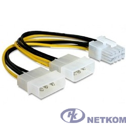 Cablexpert Разветвитель питания 2xMolex->PCI-Express 8pin, для подключения в/к PCI-Е (8pin) к б/п ATX (CC-PSU-81)