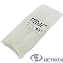 Exegate EX253850RUS Стяжка нейлоновая, неоткрывающаяся. Exegate <CV-200W>, 200мм, упак. 100шт White