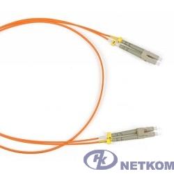 Hyperline FC-D2-50-LC/PR-LC/PR-H-2M-LSZH-OR (FC-50-LC-LC-PC-2M) Патч-корд волоконно-оптический (шнур) MM 50/125, LC-LC, 2.0 мм, duplex, LSZH, 2 м