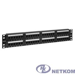 "Exegate EX256753RUS Патч-панель UTP 19"" 48 port кат.5e Exegate  разъём KRONE&110 (dual IDC), 2U"