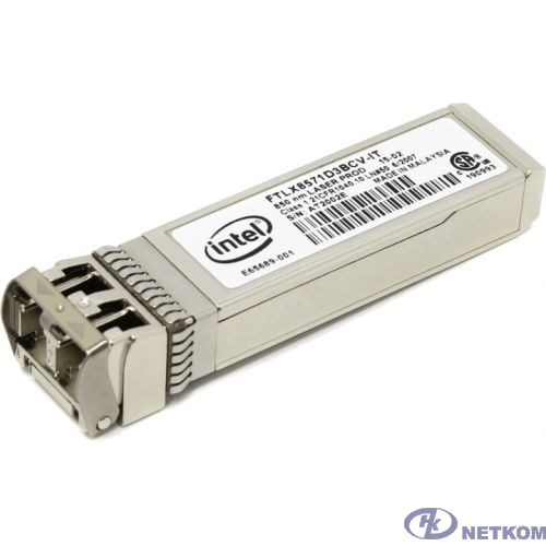 INTEL E10GSFPSR FTLX8571D3BCV-IT модуль Ethernet SFP+ SR Optics для Intel Ethernet Server Adapter X520-DA2