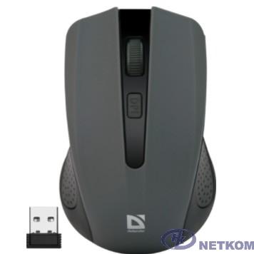 Defender Accura MM-935 Grey USB [52936] {Беспроводная оптическая мышь, 4 кнопки,800-1600 dpi}