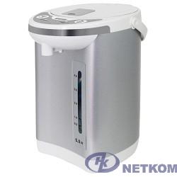 MYSTERY MTP-2451 Термопот, Мощность: 700 Вт, Объём: 5 л., Металлический корпус, Цвет: Белый.