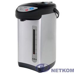 MYSTERY MTP-2452 Термопот, Мощность: 700 Вт, Объём: 4 л., Металлический корпус, Режим поддержания температуры 35 Вт, Цвет: Чёрный.