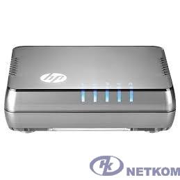 HP JH407A Коммутатор HPE 1405 5G v3 неуправляемый настольный 5x10/100/1000BASE-T