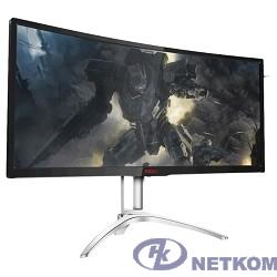 "LCD AOC 35"" AGON AG352QCX черный {MVA Curved FreeSync 2560x1080@200Hz 21:9 2000:1 300cd D-Sub D-sub DisplayPort DVI MHL HDMI USB3.0x2 AudioOut 5Wx2 }"