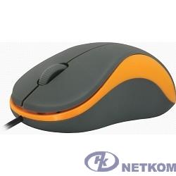 Defender Accura MS-970 серый+оранжевый, Проводная оптическая мышь, 3кнопки,1000[52971]