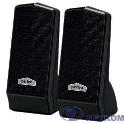 """Perfeo колонки """"CURSOR"""" 2.0, мощность 2х3 Вт (RMS), чёрн, USB (PF-601)"""