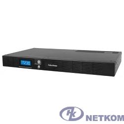 UPS CyberPower OR600ELCDRM1U black {600VA/360W USB/RS-232/SNMPslot /RJ11/45 (4+2 IEC С13)}
